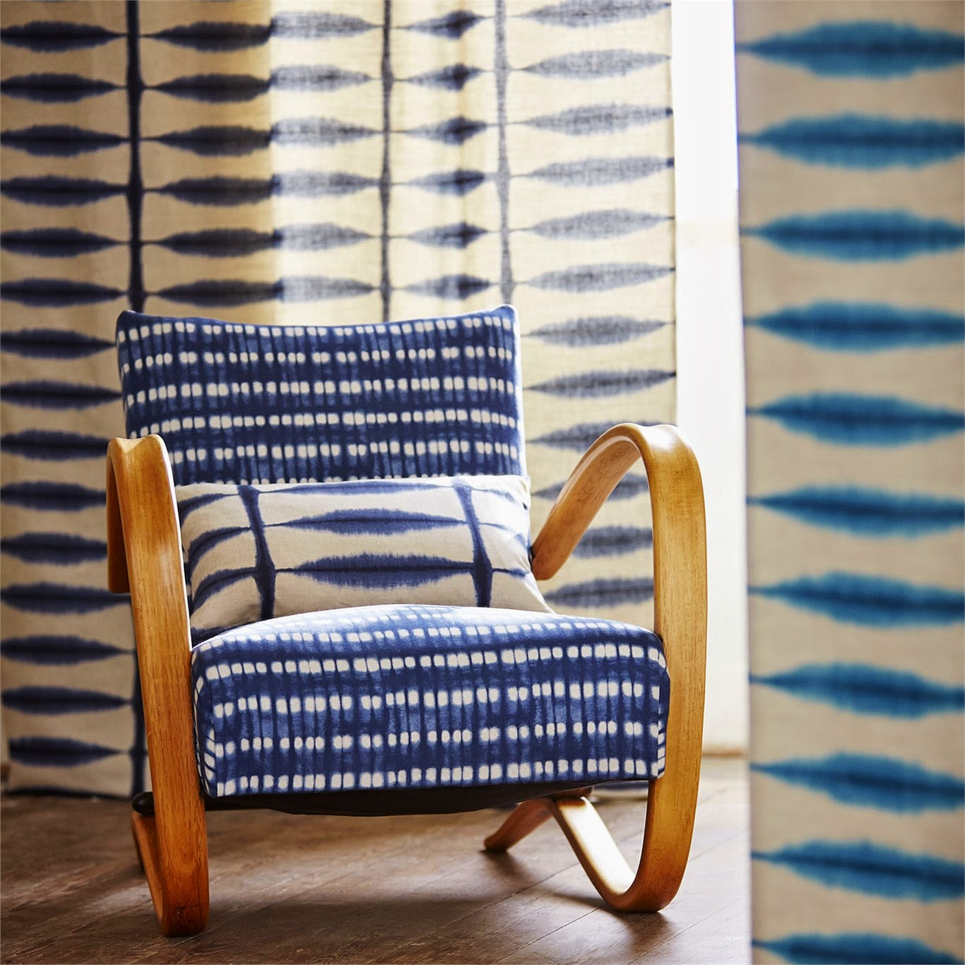 shibori chair