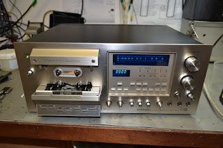 Pioneer CT-F1250 Cassette deck repairs.