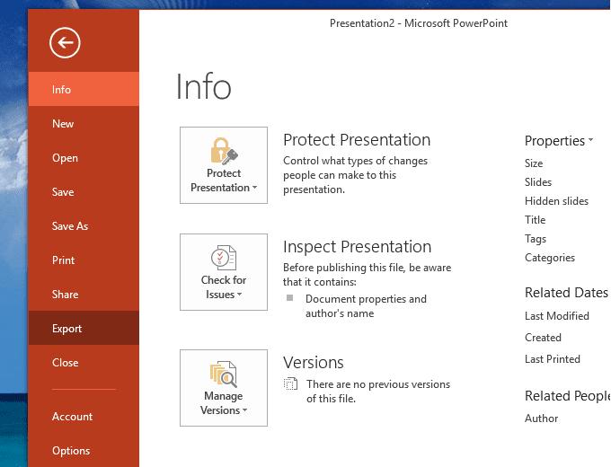 Cách chuyển slide powerpoint thành video
