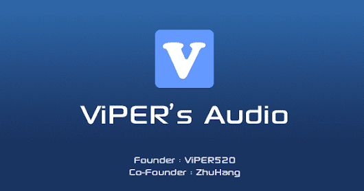 [APP] Official ViPER4Android Audio Effects