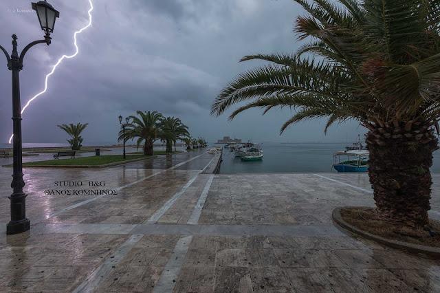 Καιρός: Τοπικές βροχές και την Δευτέρα 12 Ιουνίου
