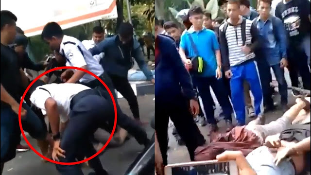 Miris! Ini Video Detik-detik Dua Pemuda Tewas Dikeroyok Satpam di Medan