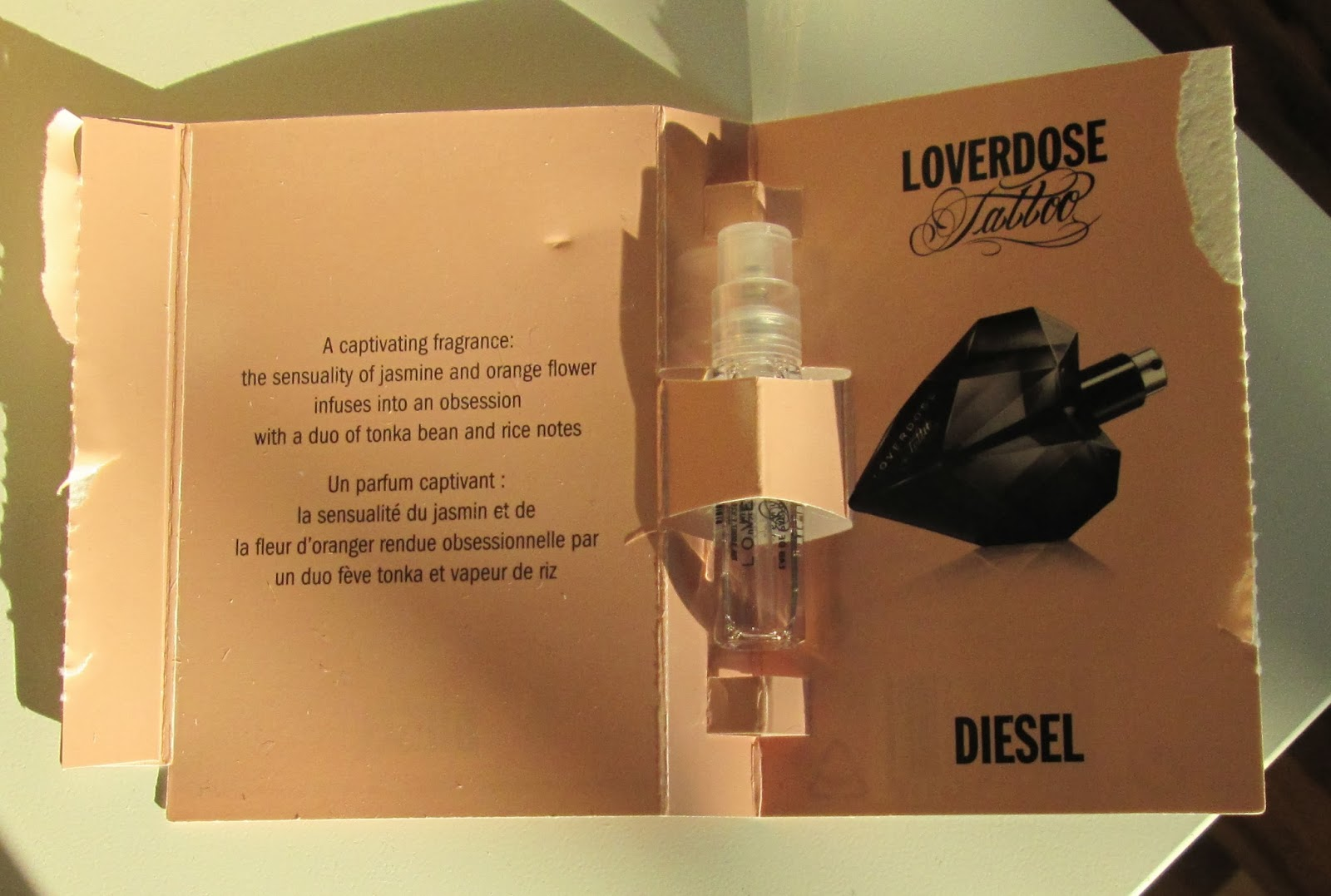 Beautyful Blog By Pampashase Review Diesel Loverdose Tattoo Eau