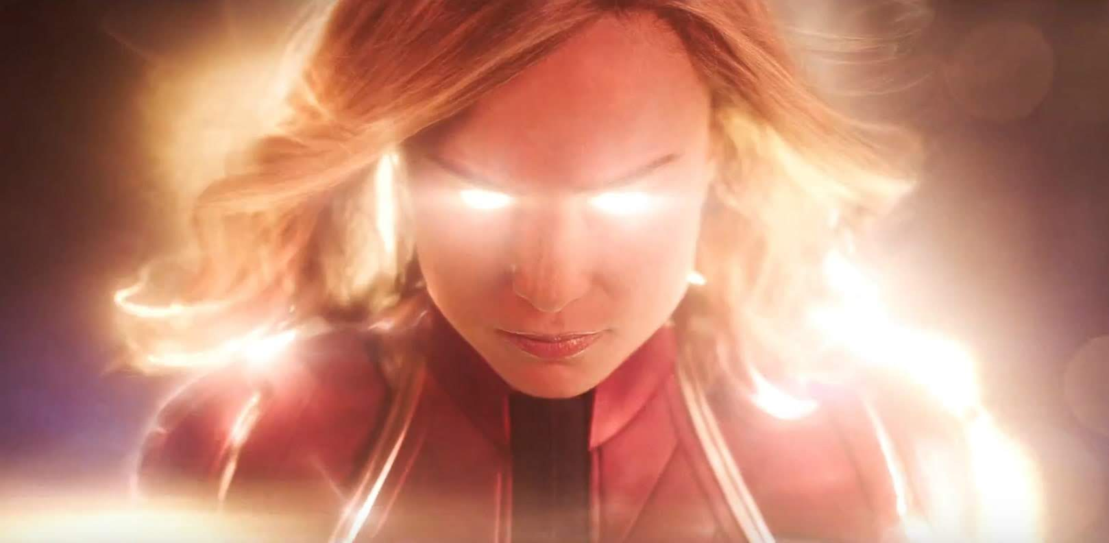 A new trailer for Captain Marvel will air tomorrow on ESPN Monday Night Football : ブリー・ラーソン主演の戦うヒロイン映画「キャプテン・マーベル」が、新しい予告編に先駆けて、チラ見せの予告編の予告編をリリース ! !