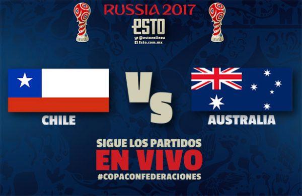 Ver Partido Chile vs Australia EN VIVO Gratis Por Internet Hoy 25/06/2017