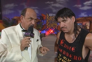 WCW Bash at the Beach 1998 Review: Mean Gene interviews Eddie Guerrero