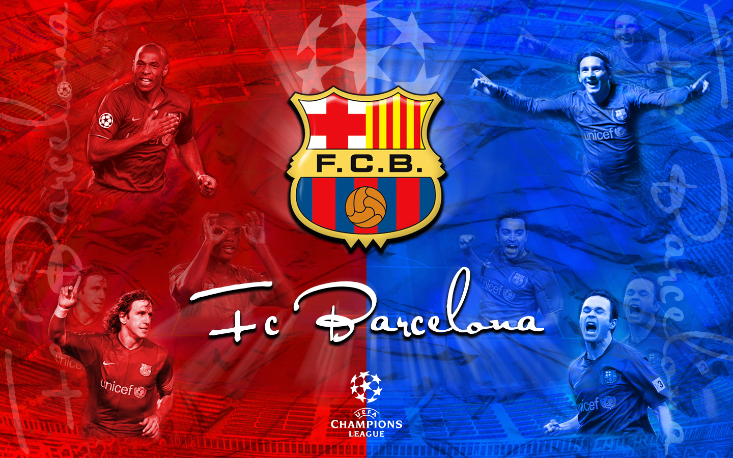Real Madrid: ALL SPORTS CELEBRITIES: FC Barcelona Logos New HD