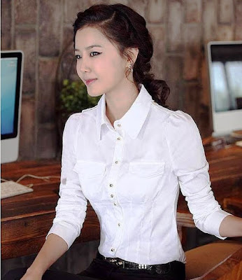 model baju atasan wanita lengan panjang terbaru