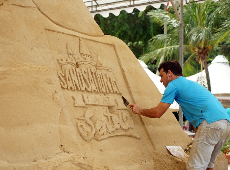 sentosa sandsation sand sculpting