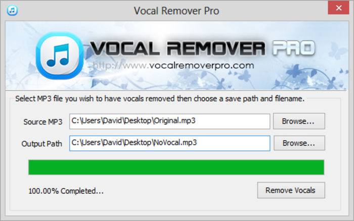 Vocal cutter free download.
