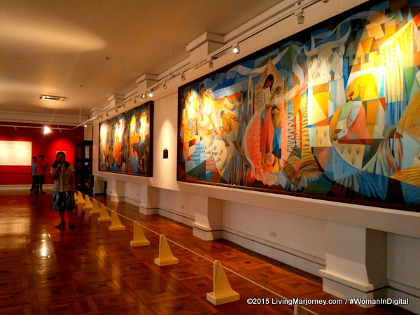 Manansala Paintings At The National Museum