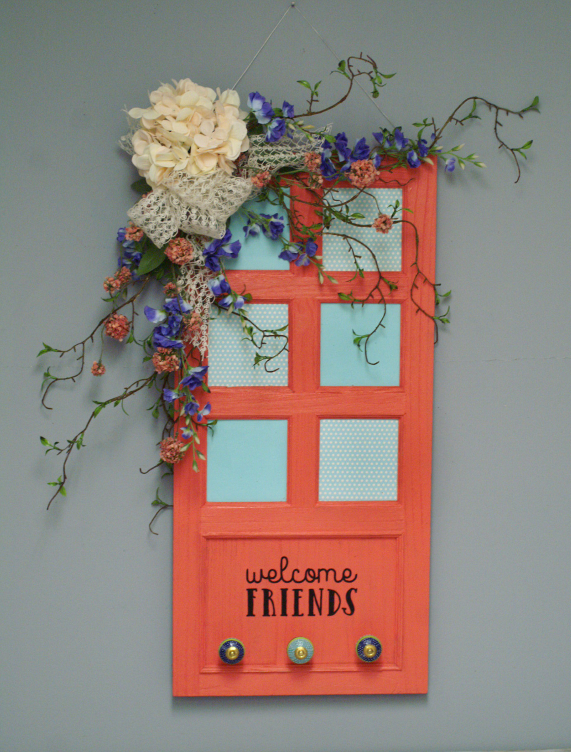 Ben Franklin Crafts and Frame Shop: DIY Welcome Door Decor