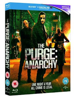 The Purge Anarchy (2014) BluRay 720p 800MB Dual Audio ( Hindi - English ) MKV