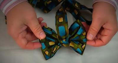 Cara Membuat Dasi Kupu Kupu Simpel