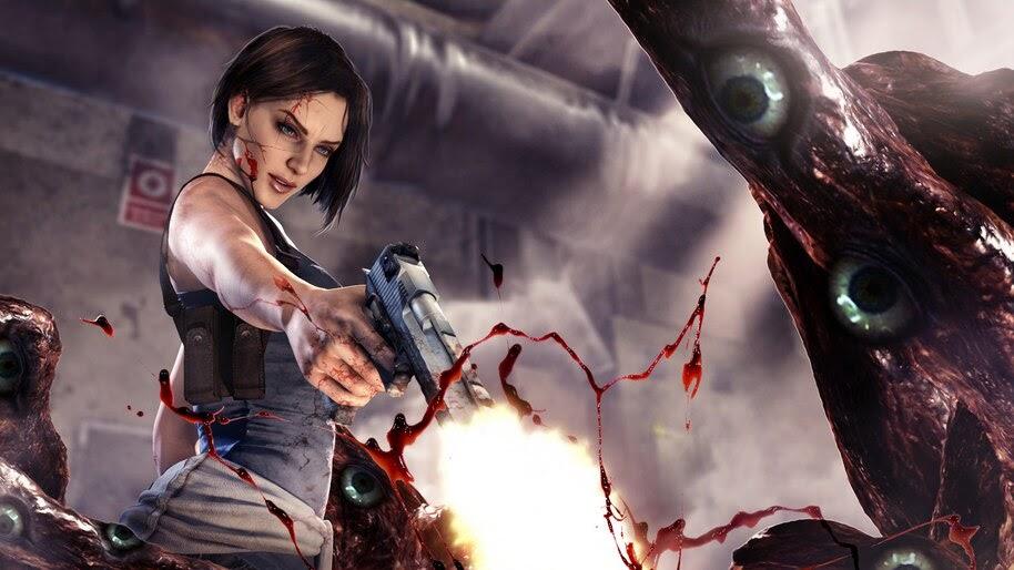 Jill Valentine Resident Evil 3 Remake 4k Wallpaper 7 599