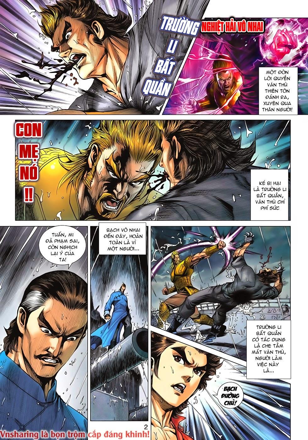 Tân Tác Long Hổ Môn Chap 606 page 2 - Truyentranhaz.net