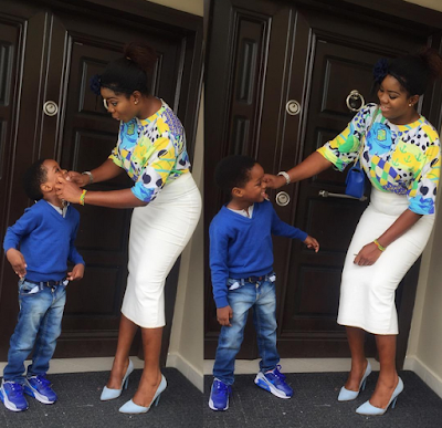 Wizkid's Baby Mama & Son, Boluwatife Are Having funs Lives In Florida