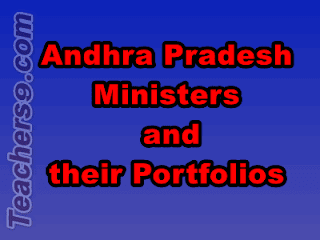 Latest Andhra Pradesh Ministers and their Portfolios