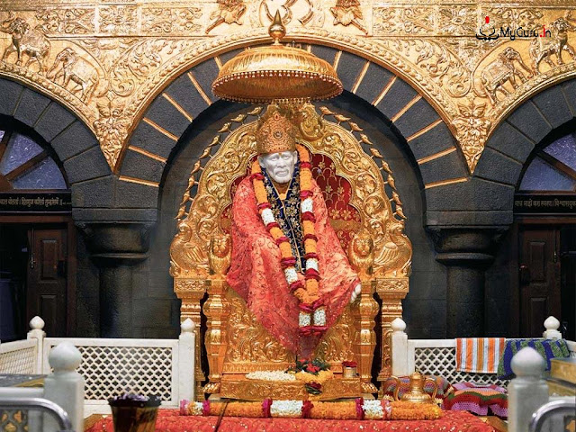 SAI BABA TEMPLE IN SHIRDI OF MAHARASTRA TOURISM