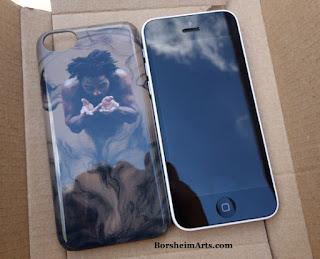 Il Dono - Borsheim Art on iPhone 5c case -choose yours
