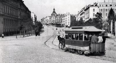 Los antiguos tranvías de Madrid