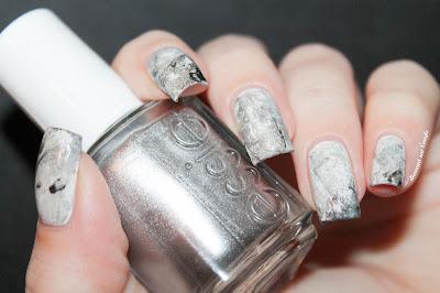 Marble Nail Art : Watermarble