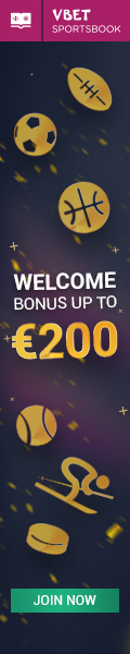 vBet - Register Now! - Free bonus 200€