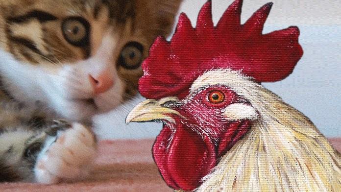 Quando i galli governavano i gatti - Anonimo
