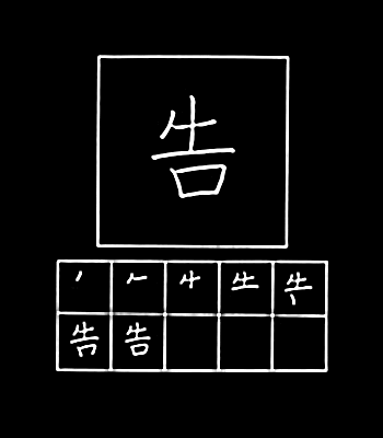 kanji laporan