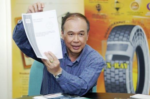 PRESIDEN Persatuan Pengilang Tayar Celup Malaysia (TRMAM), Chin Hon Meng