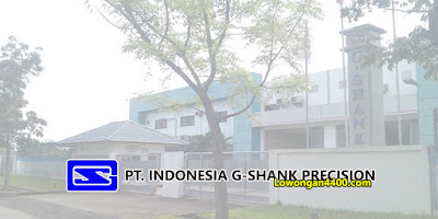 Lowongan Kerja PT. Indonesia G-Shank Precision Jababeka