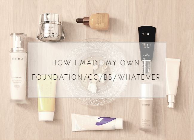 how to make my own foundation