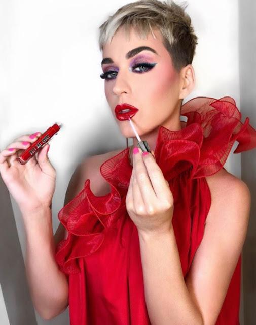 Coleção de Gloss da Katy Perry para a Covergirl