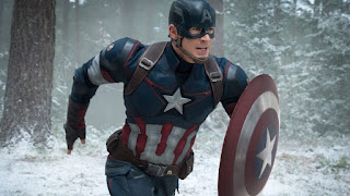 Steve Rogers/Captain America still from Age of Ultron