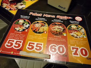Makanan Jepang di Hayaku Resto, Surabaya