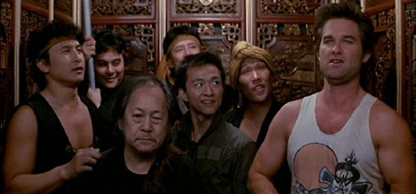Big Trouble in Little China, directed by John Carpenter