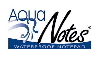 AQUA NOTES WATERPROOF NOTEPAD GIVEAWAY Ends 7/25