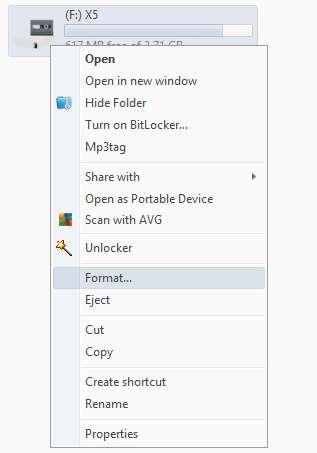 Cara Format Flashdisk Tanpa Aplikasi Tambahan