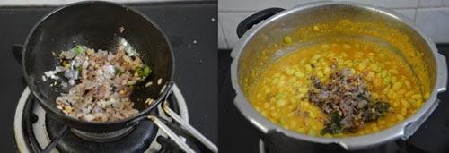 How to cook Mochai Kottai Kootu