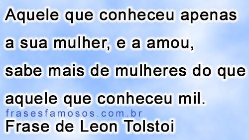 Frases de Leon Tolstoi
