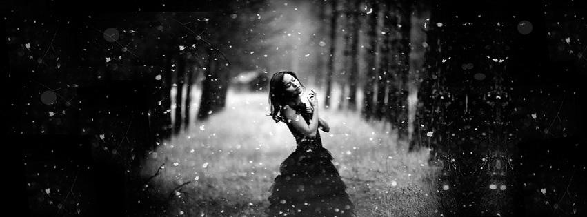 Sad Alone Girl Between...