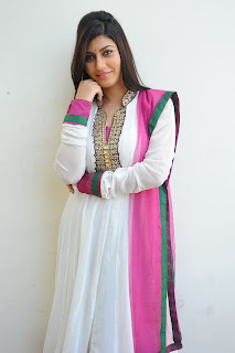Sara Sharma Pictures in Latest White Salwar Kameez