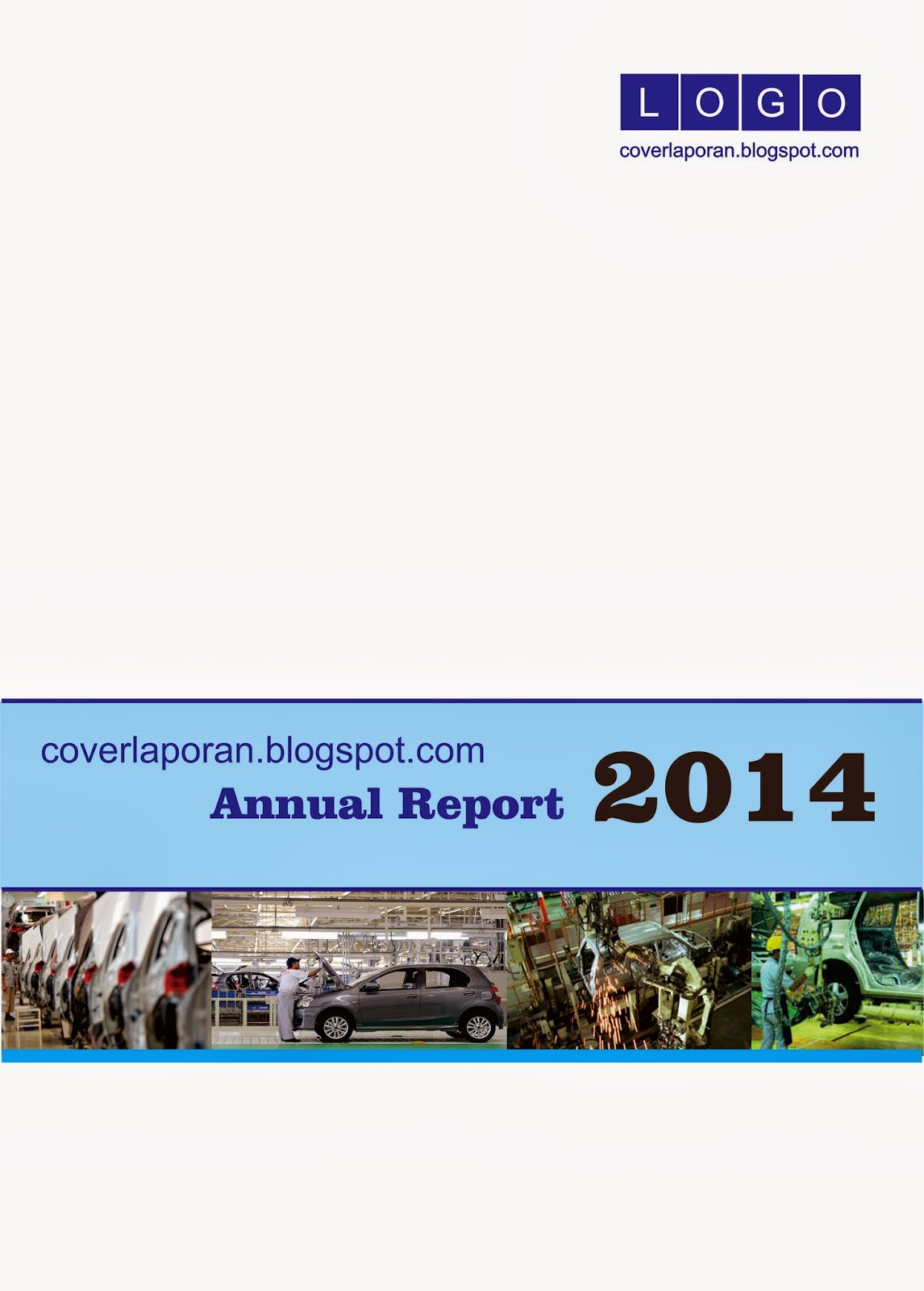 Cover Laporan Keuangan Putih