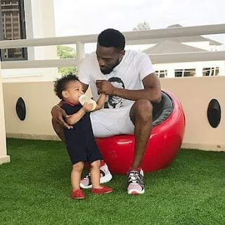 D'Banj and son