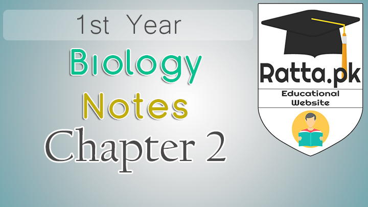 1st Year Biology Notes Chapter 2 Biological Method - 11th Class Bio Notes