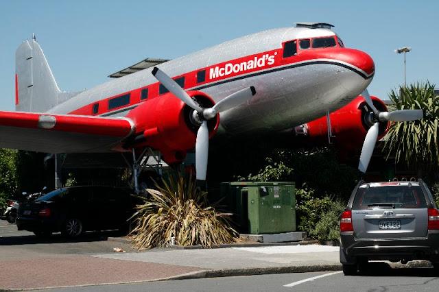 McDonald's En la ciudad de Taupo Nueva Zelanda