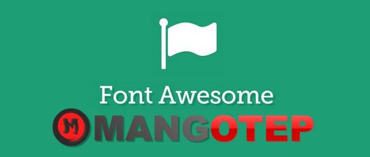 Cara Update Versi Font Awesome dalam HTML Blogspot