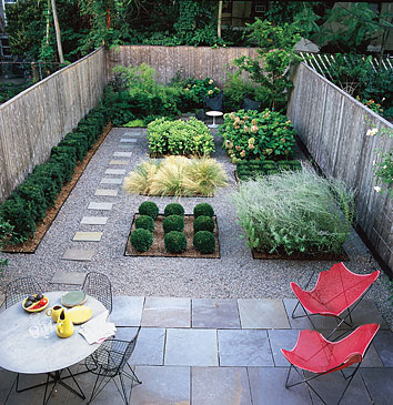 Patios y jardines Jardines verticales para patios pequenos