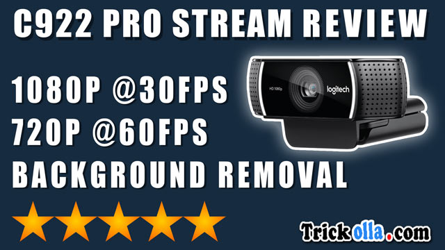 c922 pro stream review