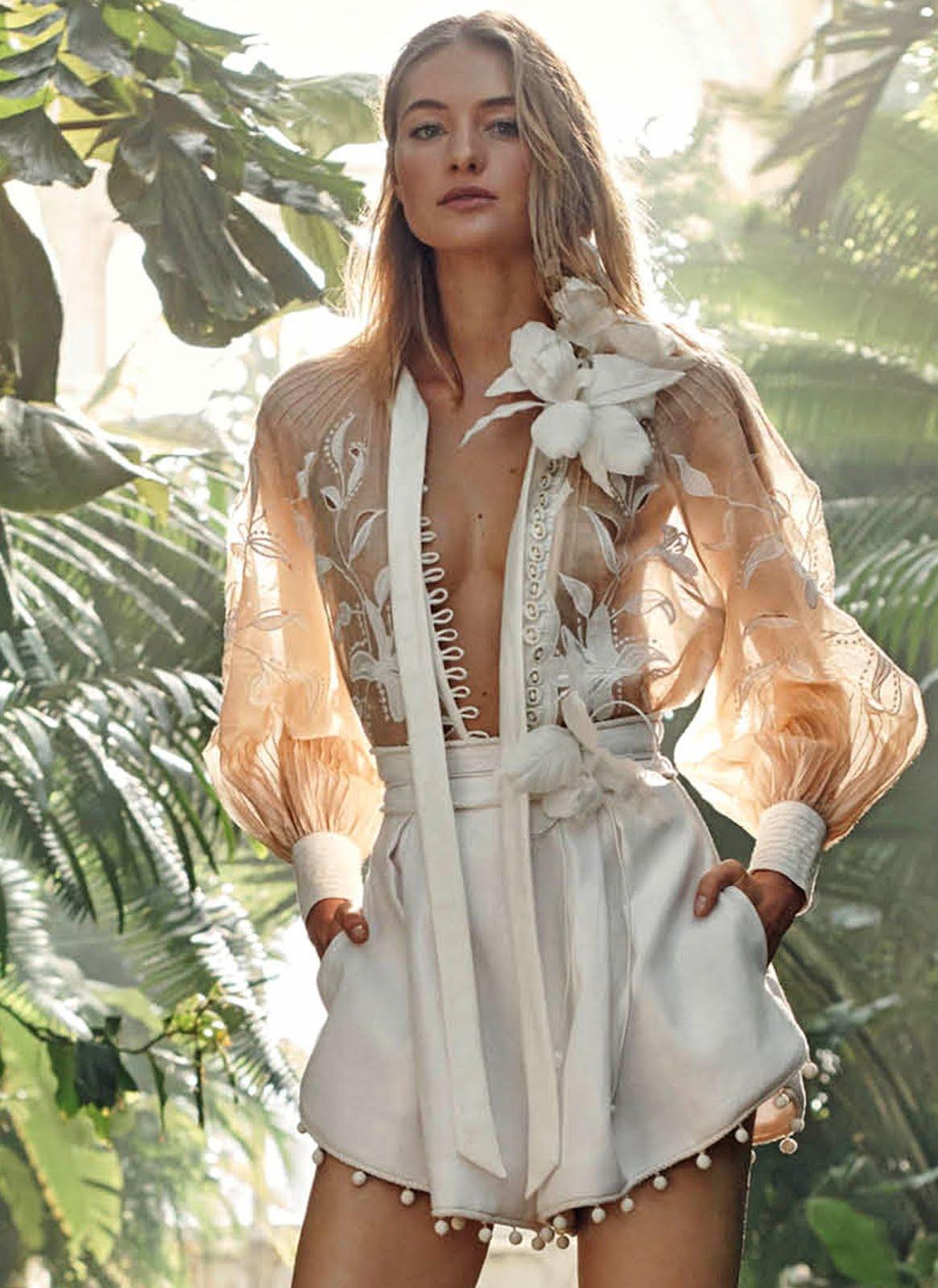 Zimmermann Feminine Dresses New York Fashion Week: Zimmermann RESORT 2019